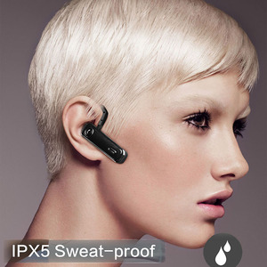 Image 5 - Bluetooth Earphone 20 Hrs Working V5.0 Headset Wireless Earbud Earphone Hands free Stereo With Mic  For Car Driving Phone Sport