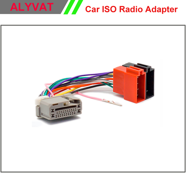 car stereo iso wiring harness for honda 2008 onwards auto radio wire rh aliexpress com Car Stereo Wiring Harness Adapters Car Stereo Wiring Harness Adapters