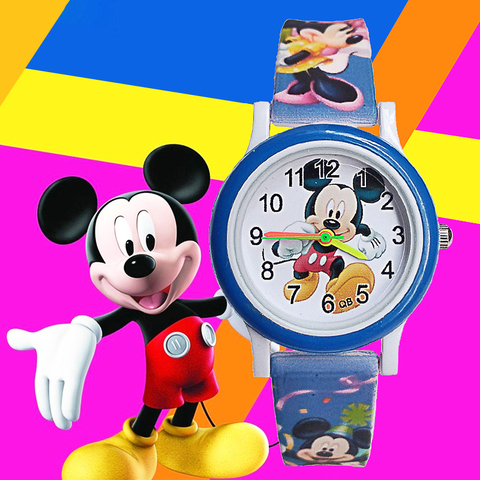 Cartoon mickey children watch digital electronic kids watches for boys girls gift Student clock Christmas gift child wristwatch Pakistan
