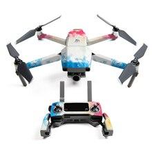 5 цветов DJI Mavic 2 наклейка в виде акулы Drone Body стикер самолет клейкие наклейки Кожа для DJI mavic 2 pro/zoom Drone аксессуары