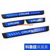 High quality stainless steel Plate Door Sill Welcome Pedal Car Styling Accessories for Chevrolet Cruze 2015 2016 2017 2018 2019
