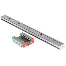 hiwin mgn12 400mm linear guide rail with mgn12c slide blocks stainless steel mgn 12mm kossel mini for cnc 3d printer parts Free shipping CNC part MGN12 L:400mm linear rail guide with mini MGN12C linear block carriage miniature linear motion guide way