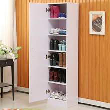 Simple shoe large capacity single door entrance porch lockers rack