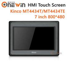 Kinco mt4434t mt4434te hmi tela de toque, 7 polegadas 800*480 ethernet 1 usb host novo interface humana
