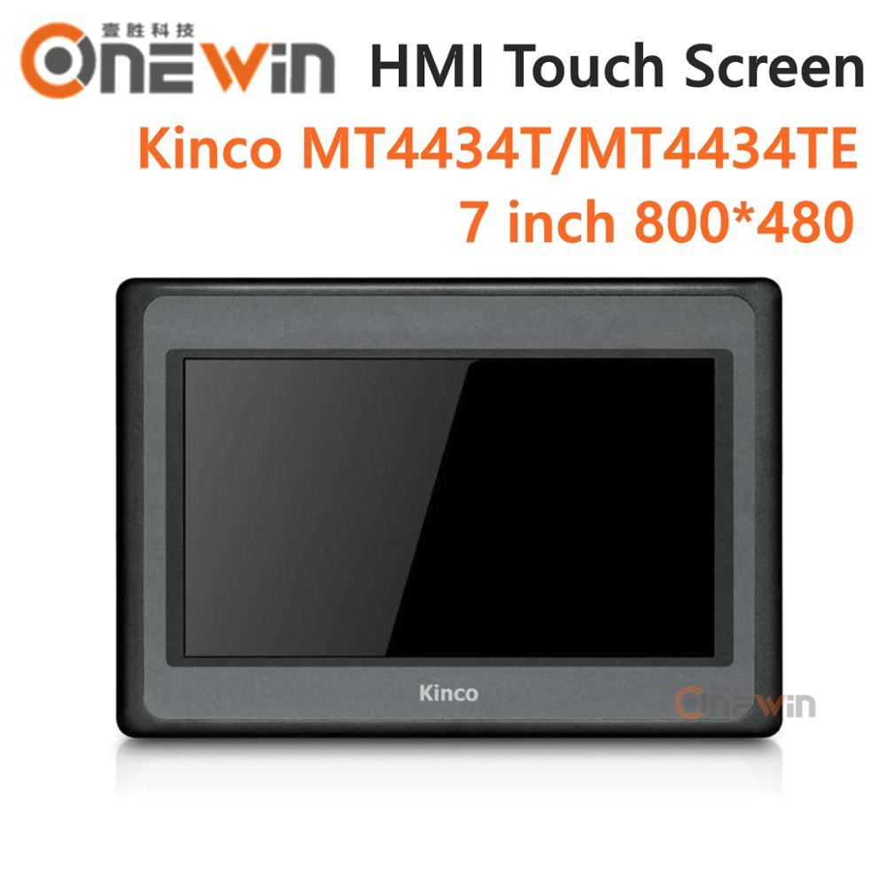 Kinco mt4434t mt4434te hmi tela de toque 7 polegada 800*480 ethernet 1 usb host nova interface da máquina humana