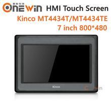 Kinco mt4434t mt4434te hmi tela de toque, 7 polegadas 800*480 ethernet 1 usb host novo interface humana