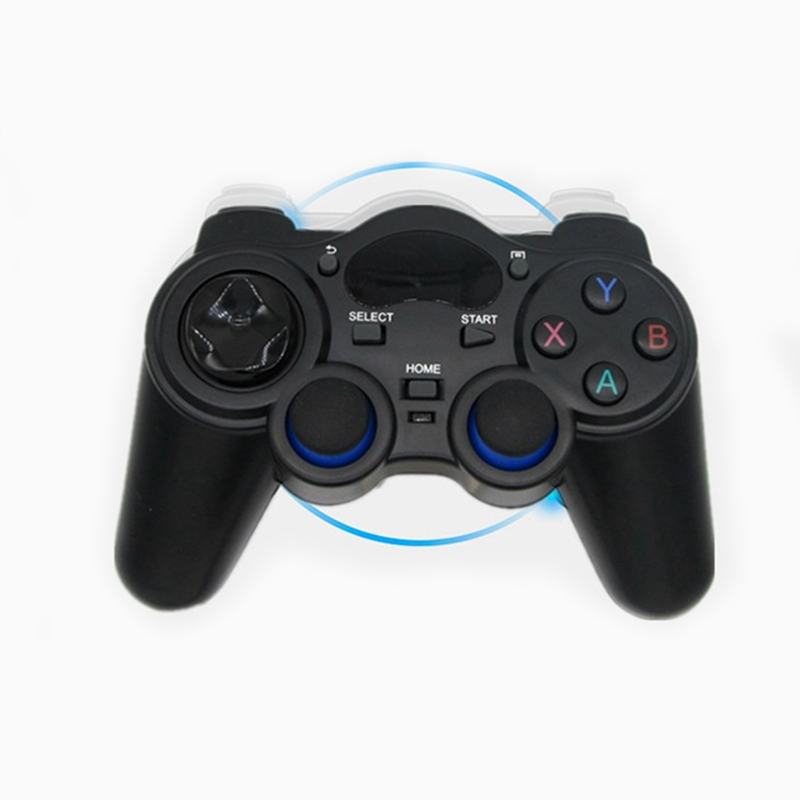 Android Wireless Gamepad 2.4GHz Gamepad PC Smart Game Controller Joystick for PC/ TV Box / PS3