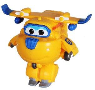 12 стилей, мини Супер Крылья, деформация, мини реактивный ABS робот, игрушка, фигурки, Супер крыло, трансформация, игрушки для детей, подарок - Цвет: No box Donnie