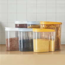 Grains, Cans, Sealed Storage, Storage Tanks, Large Kitchen Food Boxes, Dry Goods, Transparent