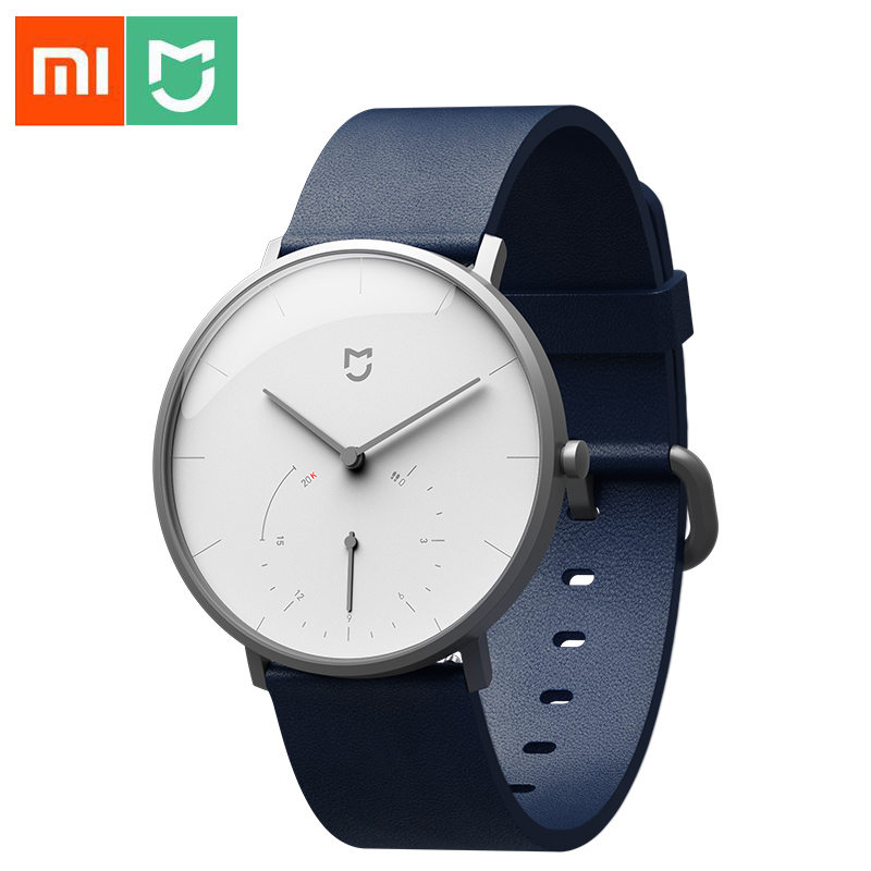 Xiaomi Mijia Smart Quartz Watch Waterproof Pedometer Smartband Bluetooth 4 0 Mi Smartwatch Automatic Calibration time