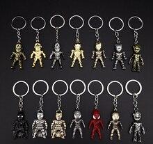 20 Pcs/Lot Wholesale Marvel Avengers Endgame Thor Hammer Keychain Weapon For Keys Men Car Women Bag Accessories