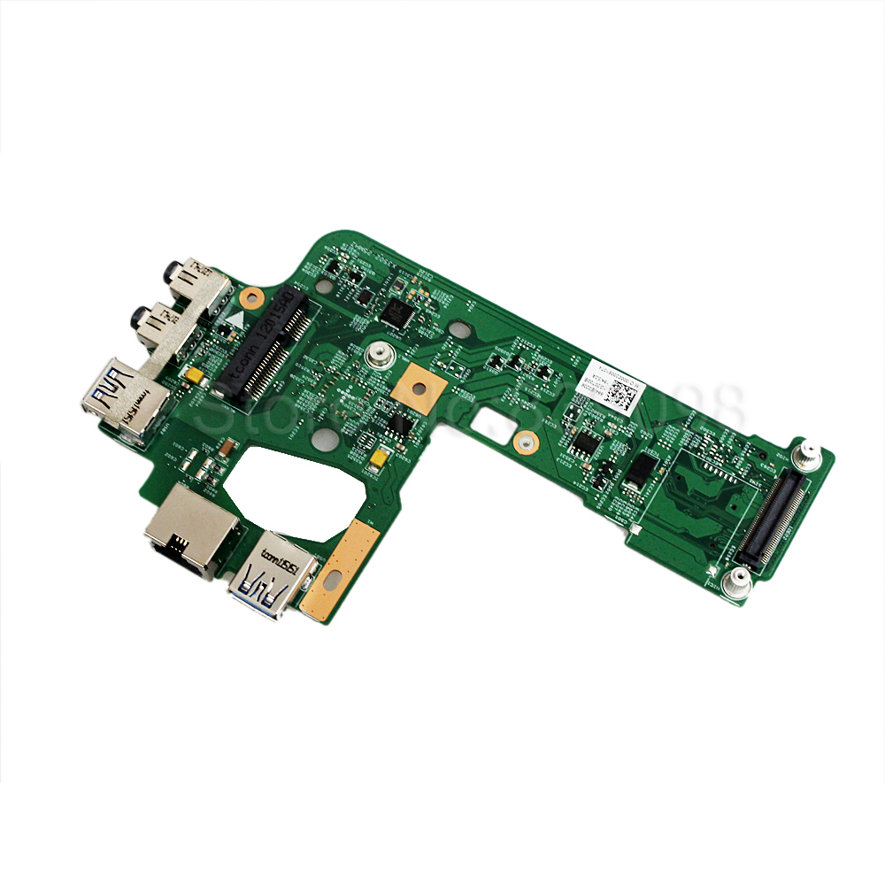 Genuine For DELL INSPIRON 15R N5110 USB Audio Ethernet Board 7WKTD 2F34T 48.4IE14.011