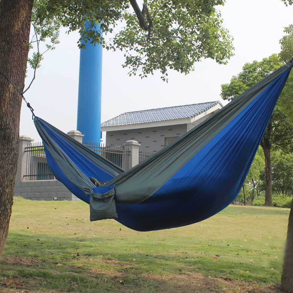 for two person portable outdoor hammocks nylon strong leisure parachute hammock popular travel camping hammock for popular camping hammock 2 persons buy cheap camping hammock 2      rh   aliexpress