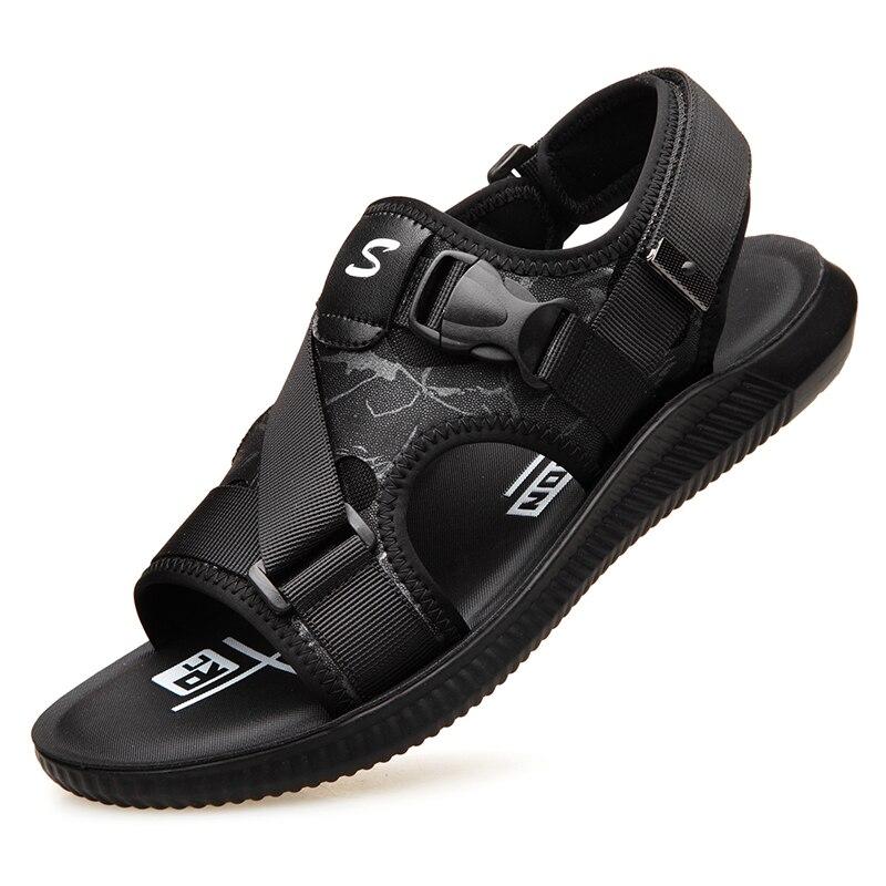 De Sandals Homens Verão Patchwork Lazer Sapatos Juventude 2 Dos Projeto Praia Slides Da070 Sandálias 1 Novidade Da Macio Bracelete pnwBYq