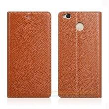 Невидимый магнит натуральная кожа чехол для Xiaomi Redmi 4x4x5.0 «Роскошный мобильный телефон Флип Стенд кожаный чехол