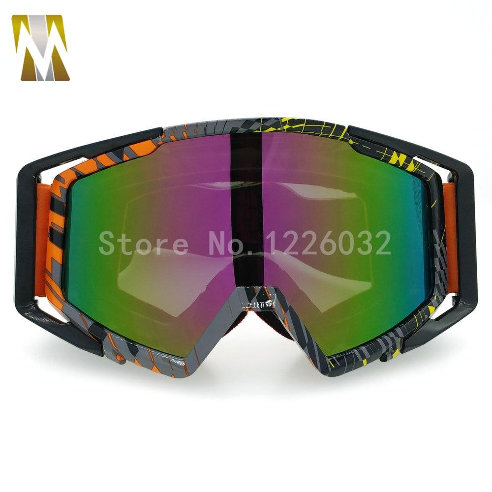 ახალი Motocross სათვალე UV400 - მოტოციკლეტის ნაწილები და აქსესუარები - ფოტო 2