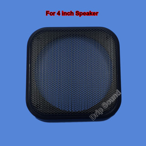 "Image 4 - For 3""/4""/5""/6"" inch Car Audio Speaker Conversion Net Cover Decorative Circle Metal Mesh Grille"