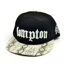 Compton men&women Snapback sport Baseball Cap Vintage Black letter Gangsta Hip-hop hat