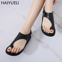 82de9754346f Vogue Leisure Flip Flops Summer Sandals Casual Women Platform Shoes Comfort  Soft Thick Bottom Women s Flat Sandals Black Shoes