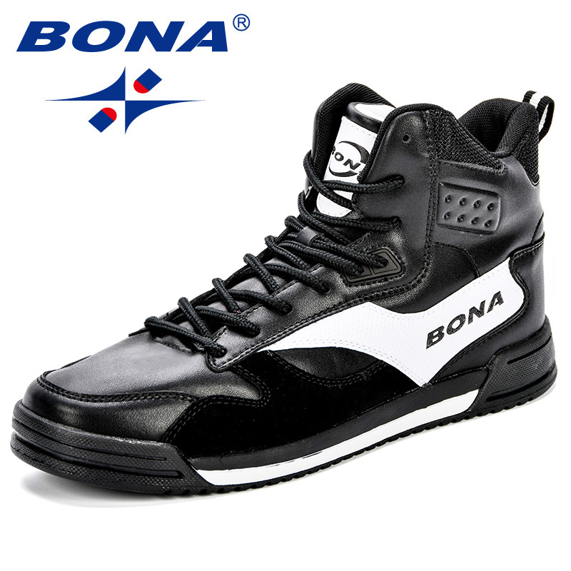 Image 5 - BONA New Style Men Skateboarding Shoes Man Lovers Flat With  Walking Sport Shoes Microfiber Outdoor Athletic Sneakers  ShoesSkateboarding