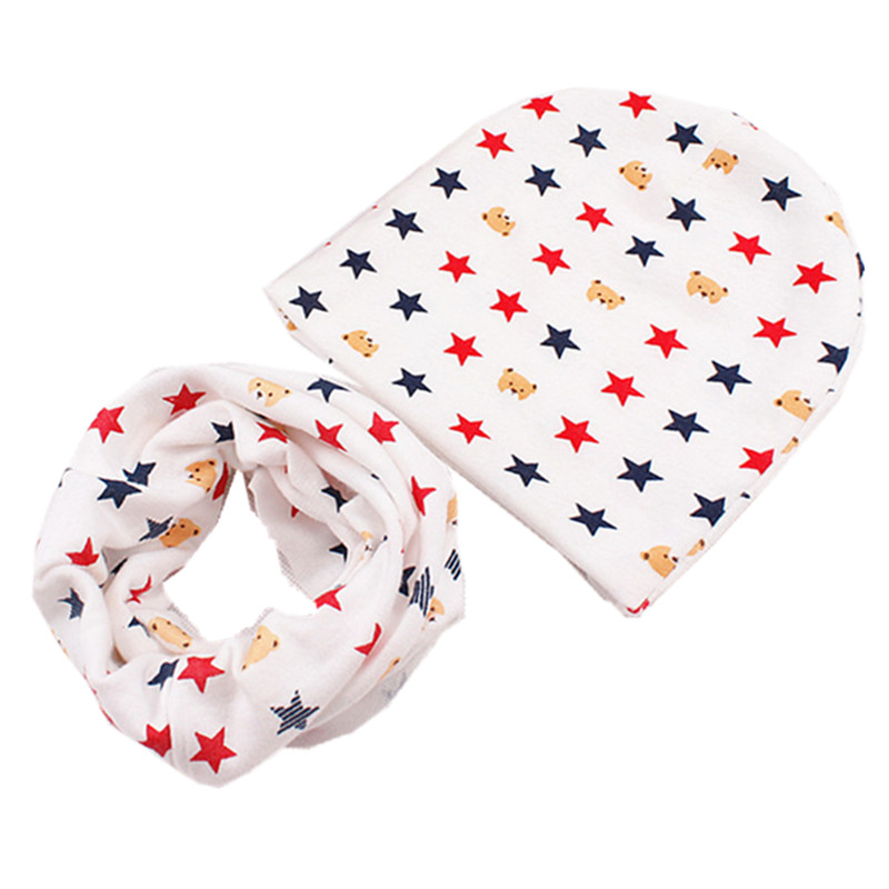 Accessories Efficient 2018 Autumn Winter New Childrens Hat Scarf Two-piece Set Kids Knit Cotton Neckchief Collar Cap Suit Neck Set Baby Hat Scarf Set 2019 Official Mother & Kids