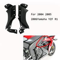 Motorcycle Accessories ABS Side Frame Mid Cover Guard Panel Fairing Cowl For Yamaha YZF R1 YZFR1 YZF R1 2004 2005 2006 04 05 06