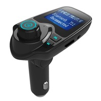 Car Mp3 Player Wireless Bluetooth Fm Transmitter FM Modulator HandsFree Car Kit A2DP 5V 2 1A