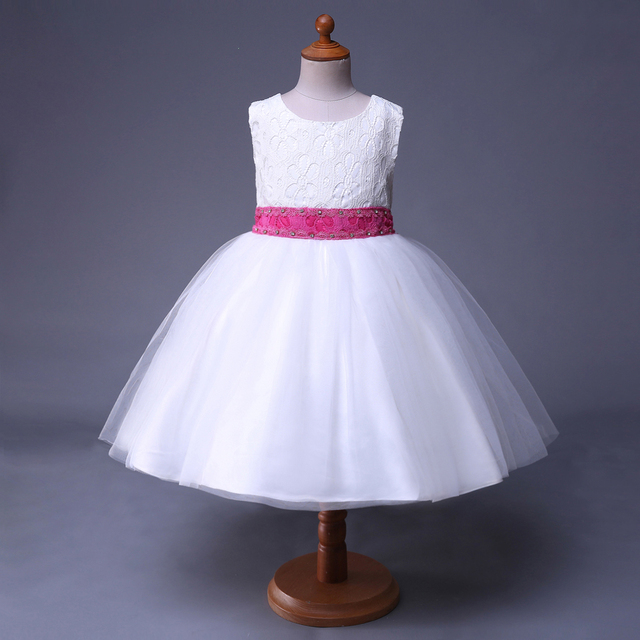 d4d57de384d US $12.16 29% OFF|Cutestyles New Summer Flower Girl Dresses Sale Simple  White Flower Girl Dresses GD40418 13-in Dresses from Mother & Kids on ...
