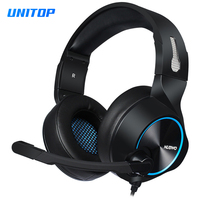 Gaming Headphones Headsets Stereo Deep Bass Noise Canceling Earphones with Microphone for Laptop/Tablet/ps4 Gamer/PC Computer