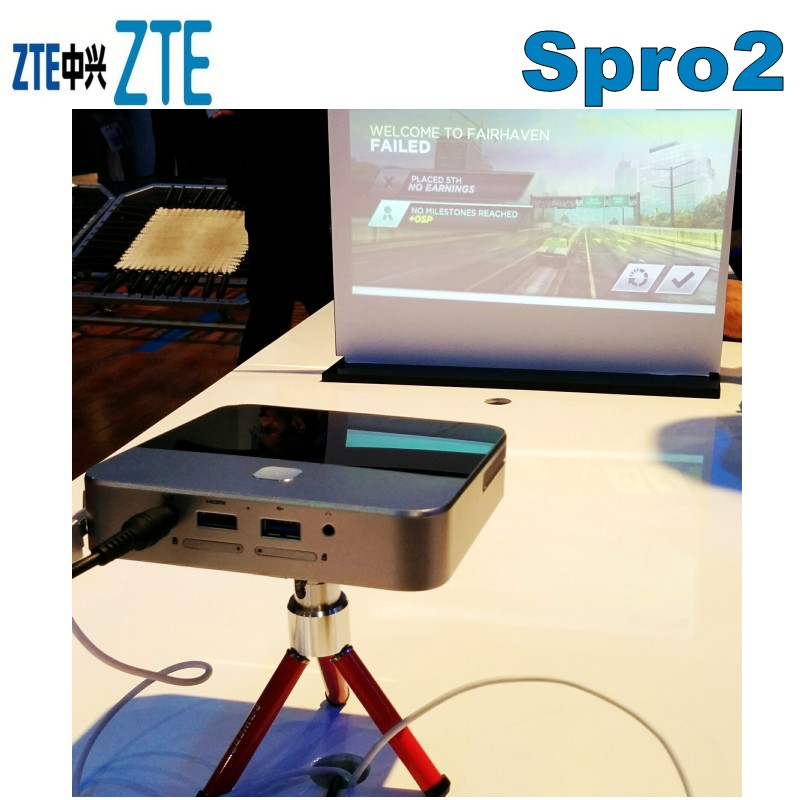 ZTE Spro 2 Smart Android Mini Projector and Hotspot  ZTE Spro 2 Smart Android Mini Projector and Hotspot