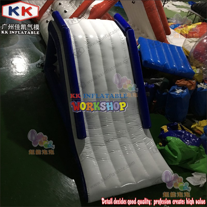 Customized Water Running Game Inflatable Aqua Slide For Adult And Kids