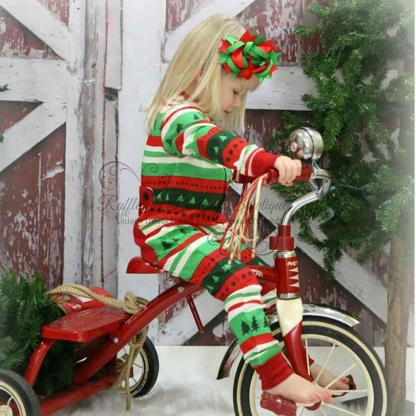 Рождественские пижамы в полоску для всей семьи, одежда для мамы, дочки, папы и сына, рождественские пижамы для всей семьи, PSS