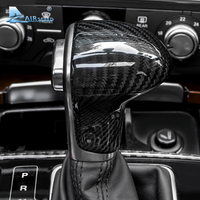 Airspeed Carbon Fiber Car Gear Shift Knob Cover Gear Lever Cover LHD For Audi A4 B8