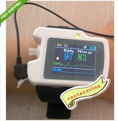 CONTEC New Respiration Sleep Monitor, SPO2,Pulse Rate Analysis+USB CE Approved+Free Shipping! edvotek lab 6 cellular respiration