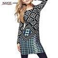 Kaigenina платье мода  новинка горячая распродажа женщин упругие  удобное  платье 1002