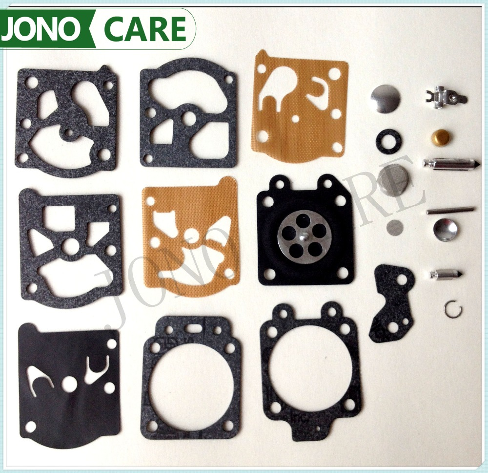 Carburetor Repair Kit K20-WAT WA WT With Carb Rebuild Tool Gasket Diaphragm Parts Fits Walbro Trimmer,chain Saw,weedeater,echo