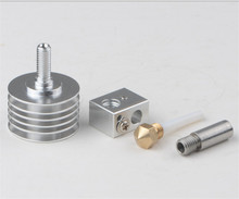 Horizon Elephant Reprap 3D Printer MK10 hotend kit PTFE tube inside for 1.75mm filament