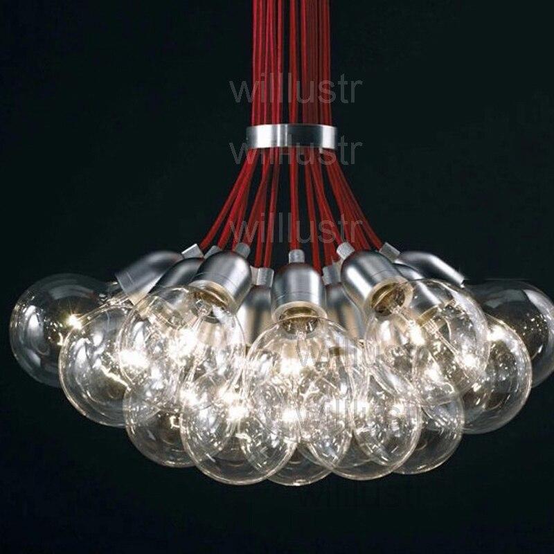 Испания DAB 10 15 19 21 алюминиевая подвеска лампы современный алюминиевый головной свет Испанский Дизайн Внутреннее освещение dab лампочка класт