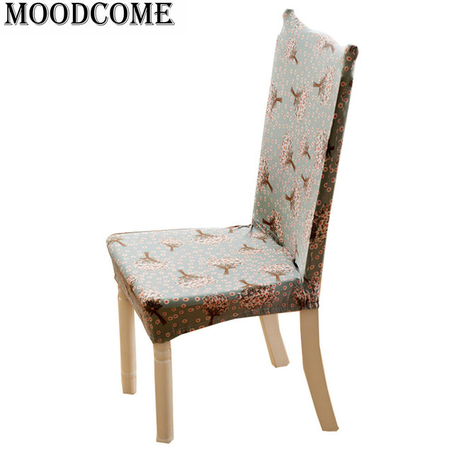 Salle A Manger Chaise Couvercle Housse Pour Chaise Polyester Housse