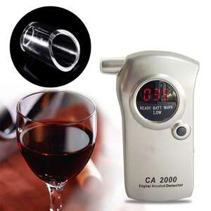 Nozzle Breathalyzer Alcohol-Tester Keychain Mouthpieces