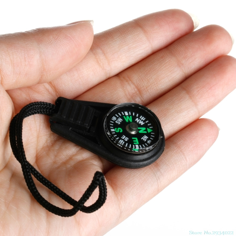 New Mini Zipper Pull Compass Backpack Bag Strap Charm Sport useful Drop Ship