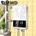 DMWD 8500 W Elektrische küche Tankless Heizung Dusche Instant Momentanen Wasser thermostat Heizung Heizung Bad EU