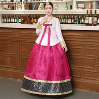 Hanbok korean national costume korean traditional dress cosplay korean hanbok wedding dress performance clothing hanbok DD315