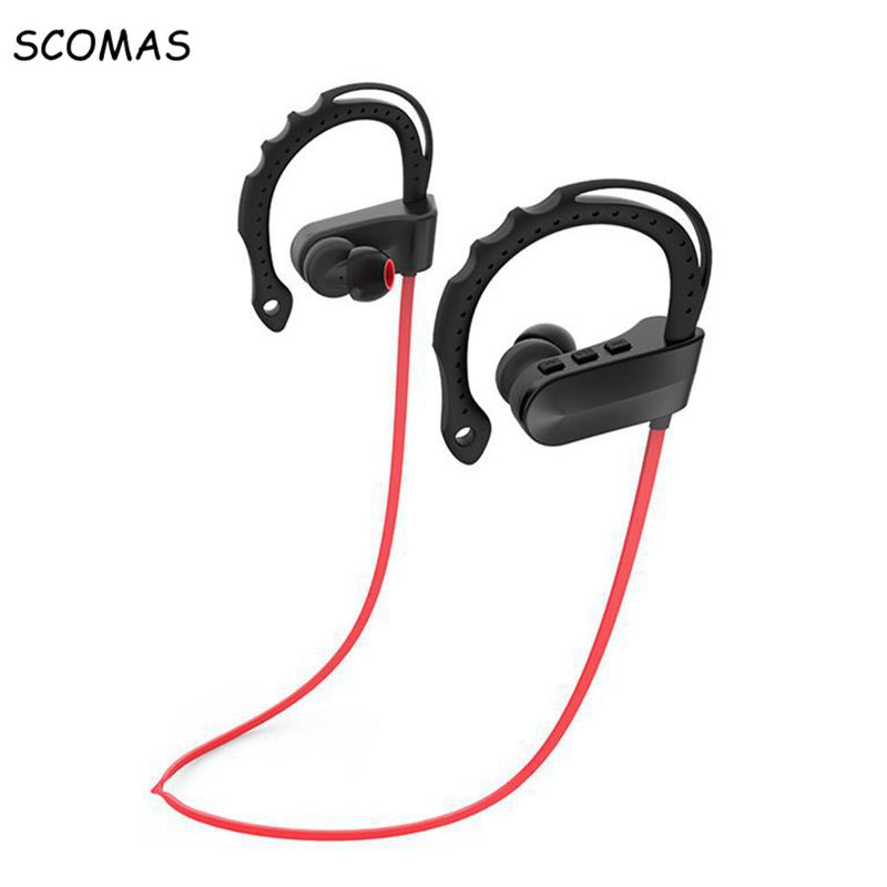 SCOMAS Q12 mini Headset Headphones 4.1 bluetooth Wireless Headphone Microphone AptX hook Sport Earphone for iPhone Android Phone цена 2016