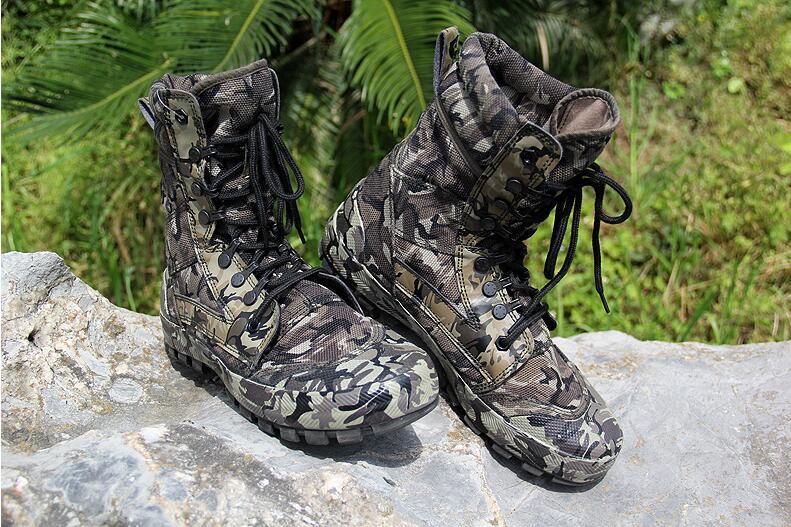 Realistisch 2018 Männer Armee Taktische Stiefel Winter Leder Militär Stiefeletten Sommer Wüste Sicherheitsschuhe Herrenschuhe Kampfstiefel Home