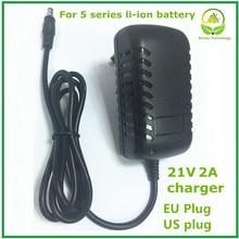 21v2Aリチウム電池の充電器5シリーズバッテリー充電器リチウム電池ledライトショー充電状態良質