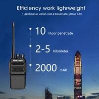 מכשיר הקשר Vineyuan מכשיר הקשר J-C5 פלוס 5W UHF 400-470MHz שני הדרך רדיו ניידת 16CH FM משדר CB רדיו Interphone (5)