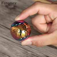 New Arrival Metal Hand Spinner Toys Colorful Round Football Fingertips Gyro Alloy Finger Spiner EDC Fidget