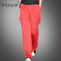 Spring, summer, new products, loose, casual, wide legged trousers, European and American fashion pants.