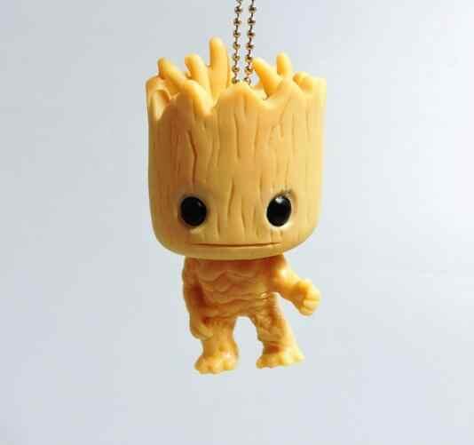 Figura do Anime Guardians Of The Galaxy 2 Árvore do Homem Boneca Baby Sitting Ver Collectible Modelo Brinquedos Brinqued 7.5 CM